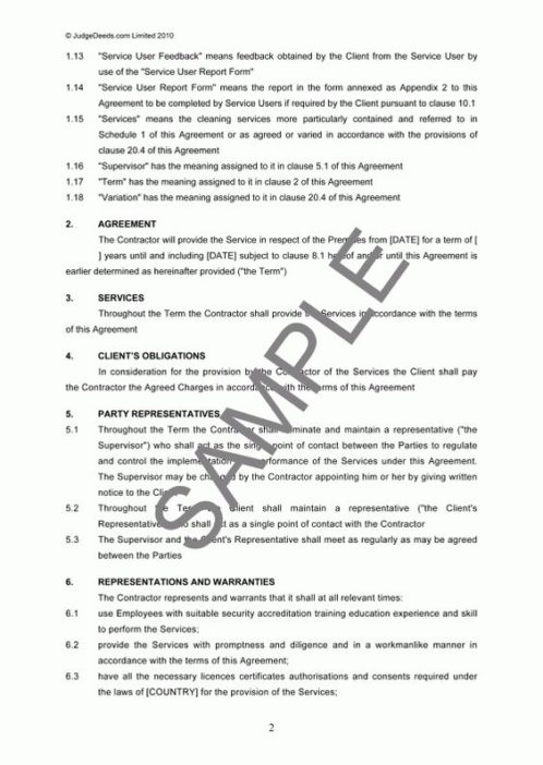 Business Services Agreement