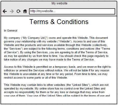 Websitetermsandconditions Legal Documents - Legal documents websites